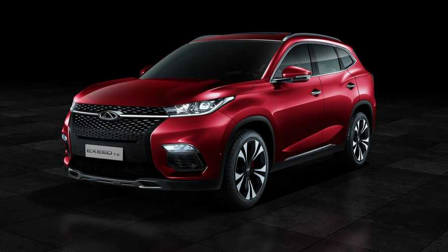 Chery Debuts Exeed TX Plug-In Hybrid SUV