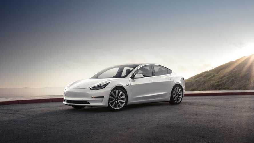 Tesla Model 3 First Ride Is Giggly - Video