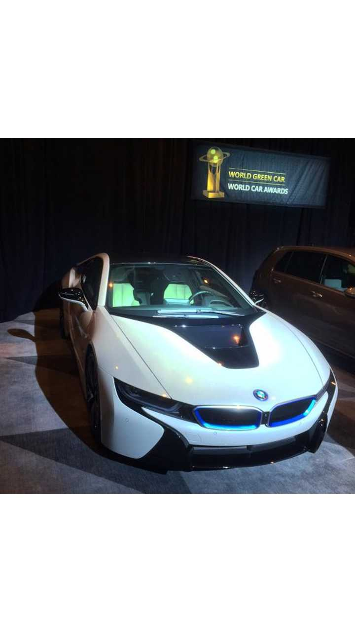 BMW i8 Wins World Green Car Of The Year