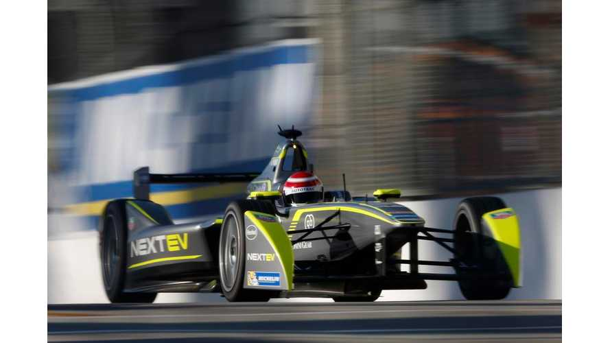 Autocar Drives Formula E Race Car