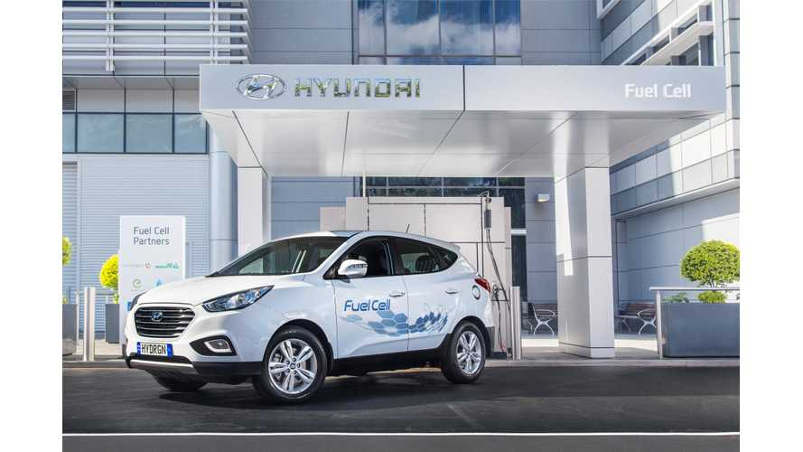 Hyundai Tucson ix35 Fuel Cell SUV Launches In Australia