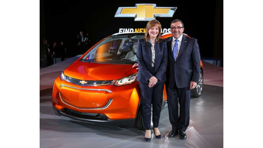 General Motors President Comments On 2016 Chevrolet Volt, Bolt & Future Of Spark EV