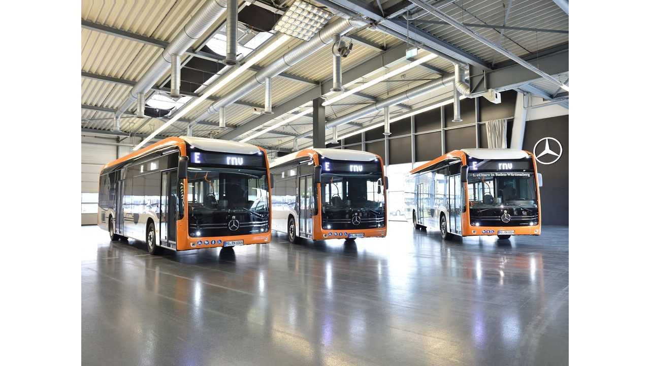 Mercedes-Benz Delivers eCitaro Electric Bus To Cities In Germany