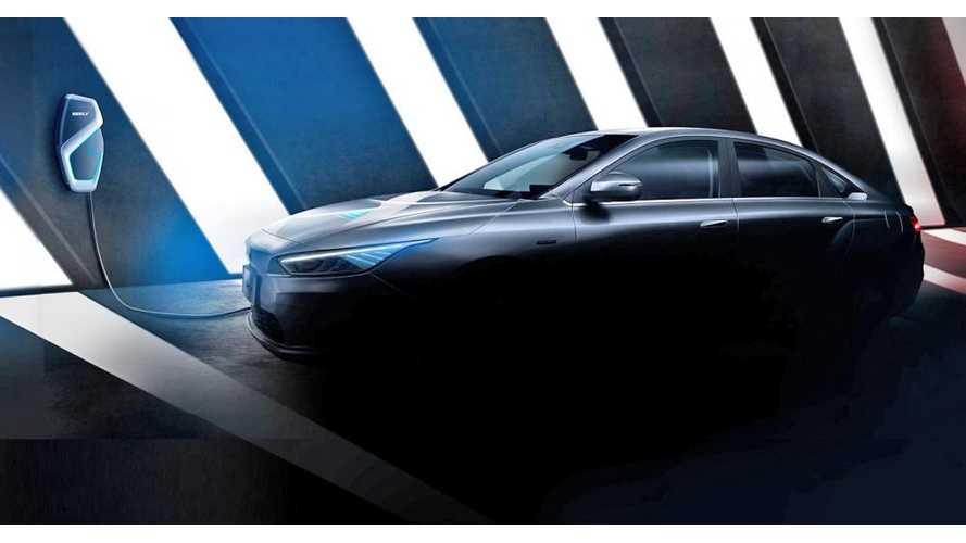 Geely Teases New GE11 EV: Will Be Sold Globally