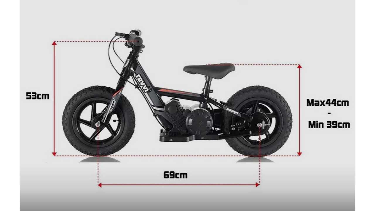 Electric Push Bike Teaches Art Of Balance And Throttle Control