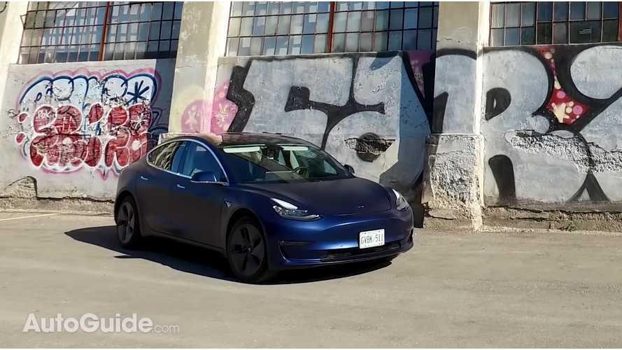 Watch AutoGuide's Tesla Model 3 Test Drive