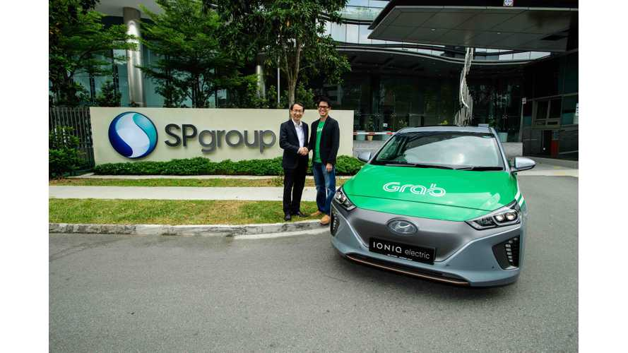 Grab To Add 200 Electric Cars In Singapore