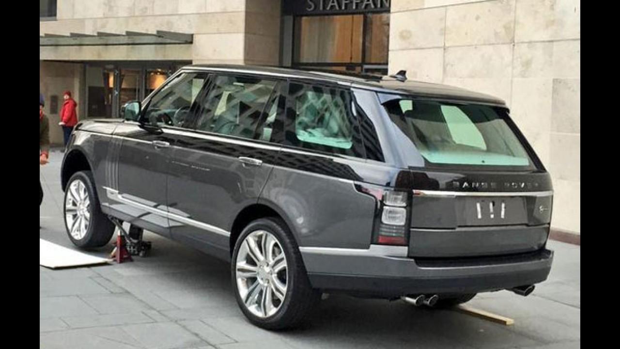 Flagra! Novo Range Rover Vogue ultraluxuoso fará estreia em abril