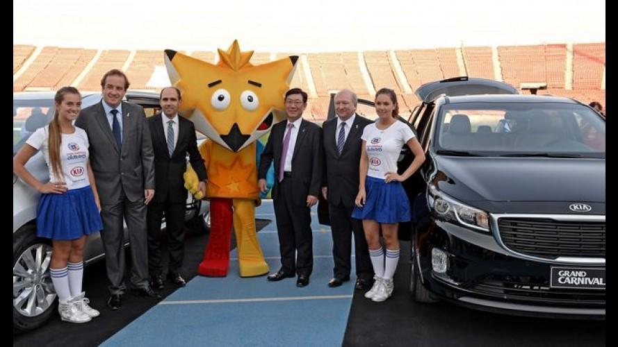 Kia anuncia patrocínio da Copa América 2015