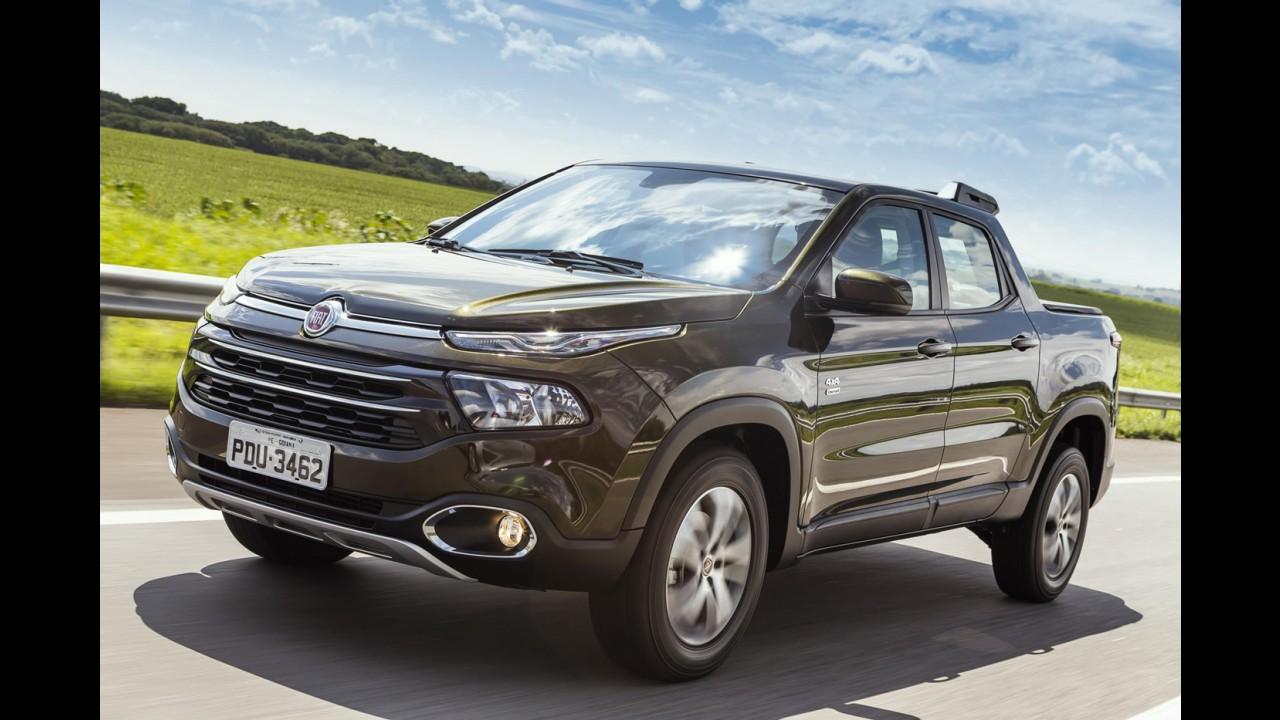 Recall: Fiat convoca Toro a diesel por risco de soltura do estepe