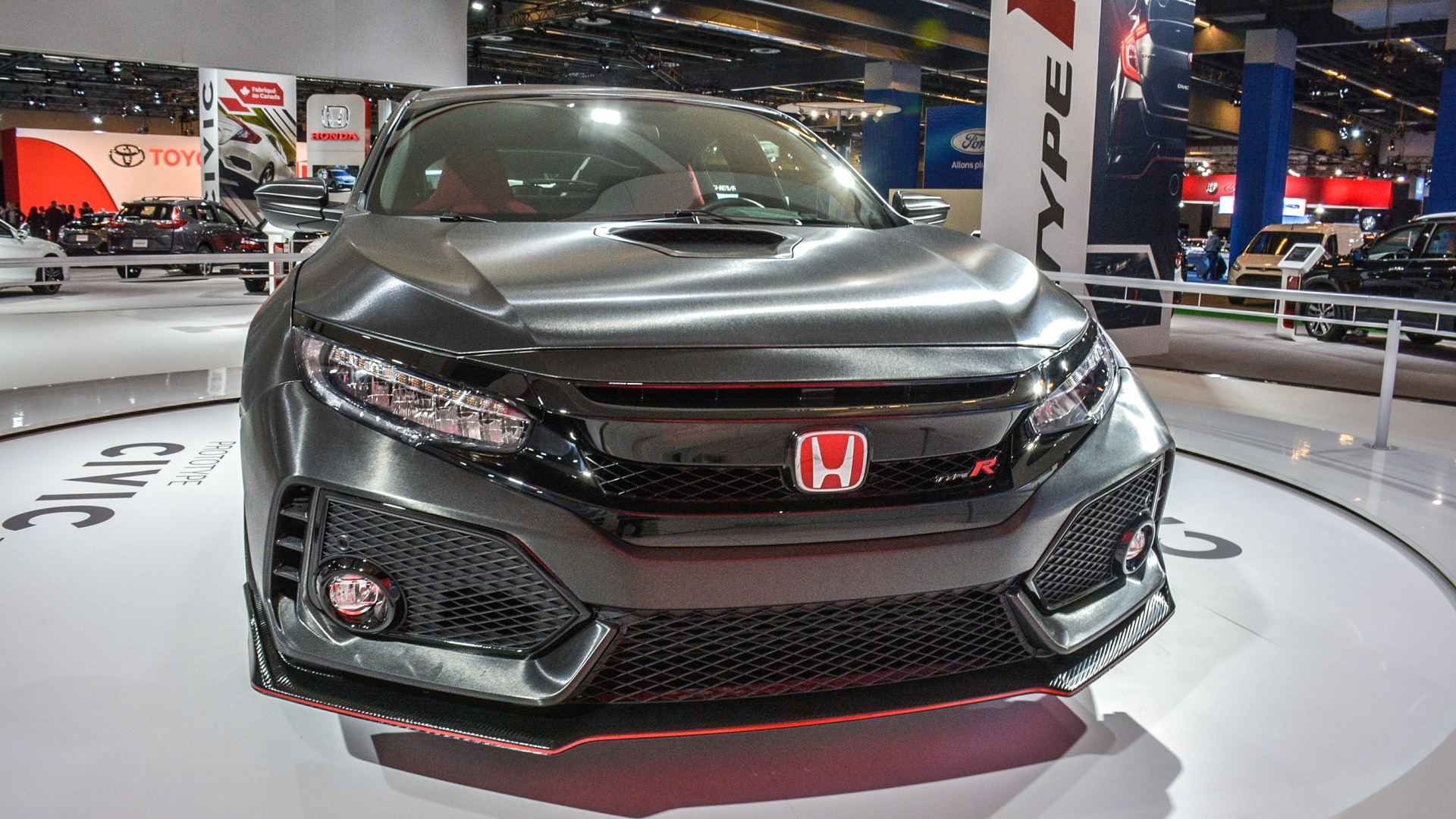 Civic Type R Canada >> Honda Civic Type R Prototype Interior Revealed In Montreal