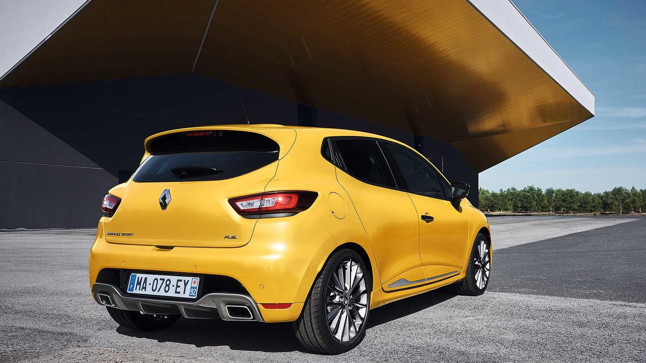 Renault Clio RS amarillo