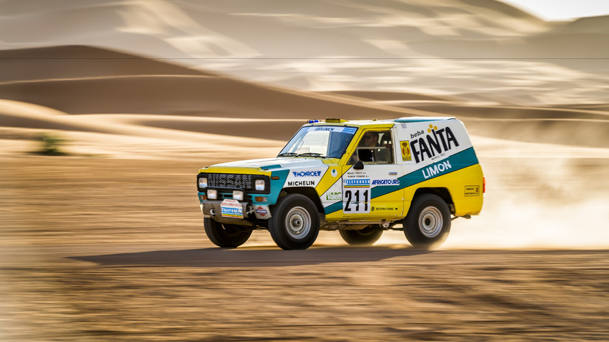 Le Nissan Patrol du Paris-Dakar 1987 remis à neuf par des ingénieurs de chez Nissan
