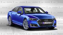 Rendu Audi A8 2018