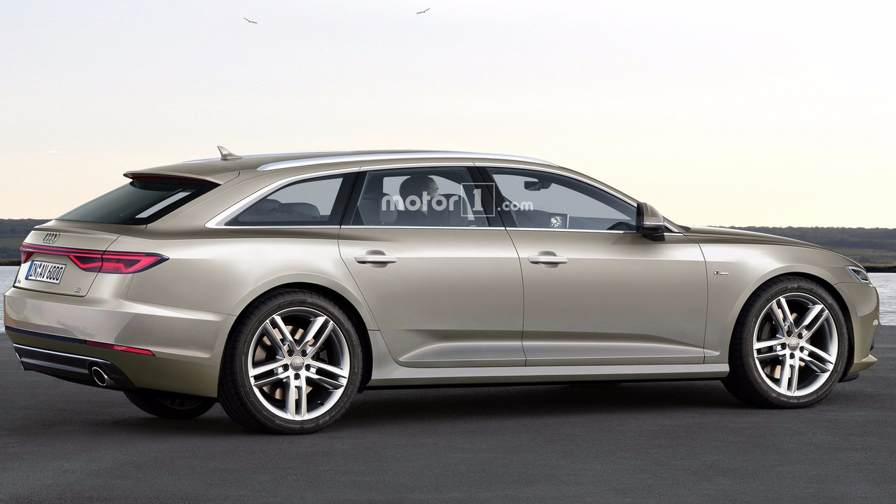Audi A6 Avant 2018 rendu