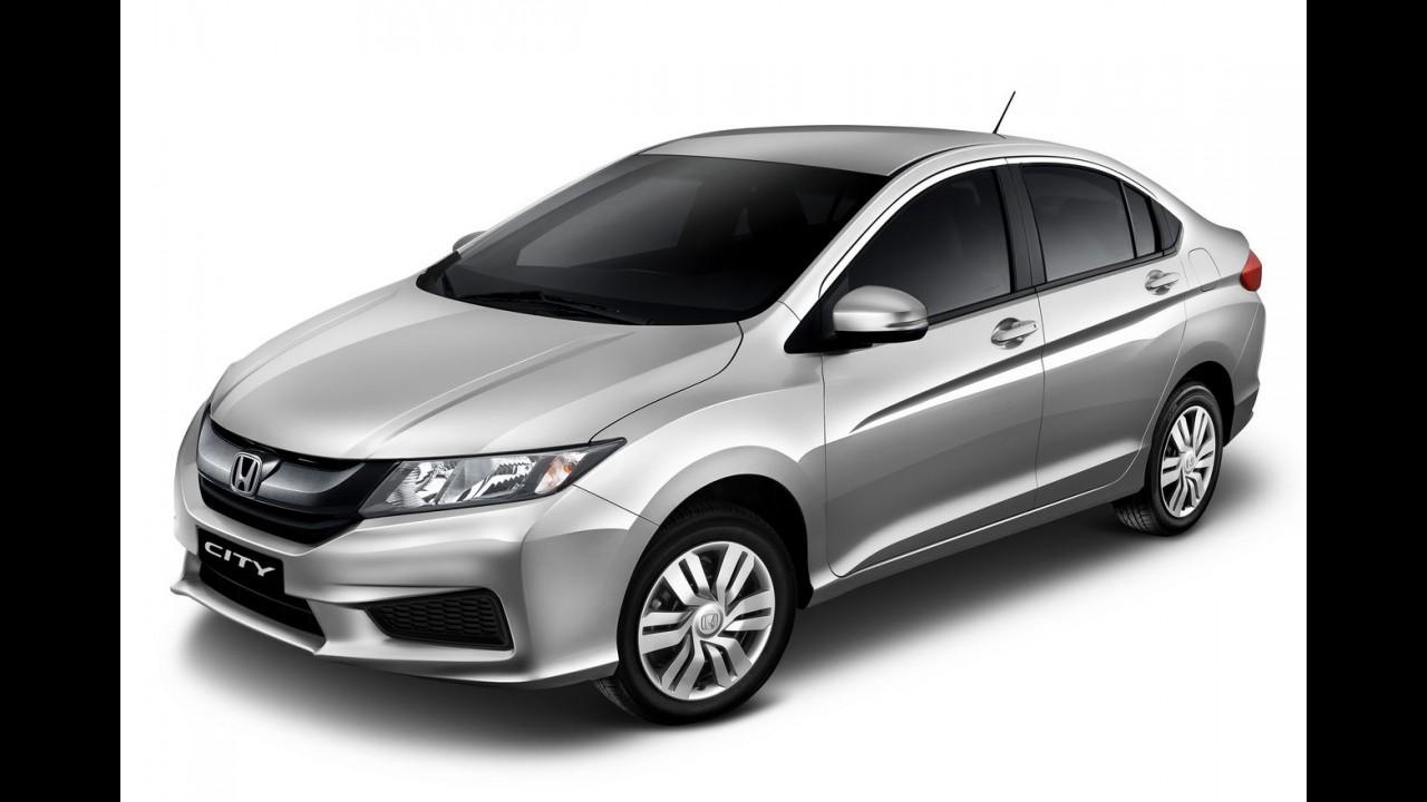 Honda City estreia câmbio CVT na versão de entrada DX por R$ 65,2 mil