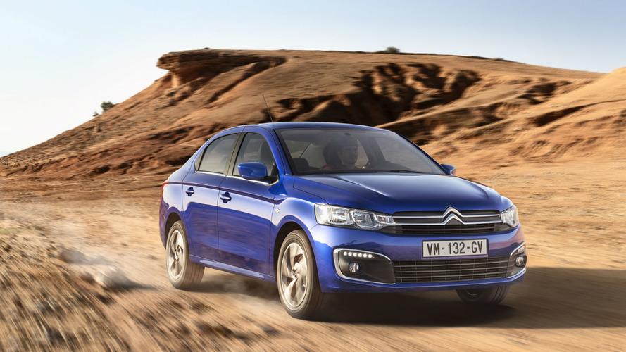 La nouvelle Citroën C-Elysée disponible à la vente