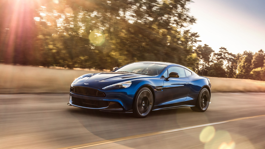 Aston Martin Vanquish S is current model's swan song