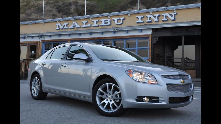 Chevrolet Malibu tem recall no Brasil para reparar cinto de segurança