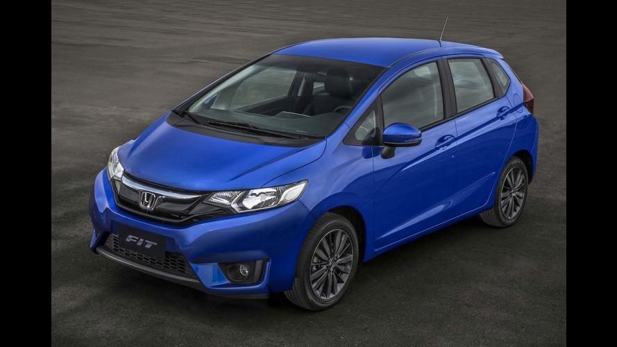 Honda convoca 14 mil unidades do Fit no Brasil por falha eletrônica