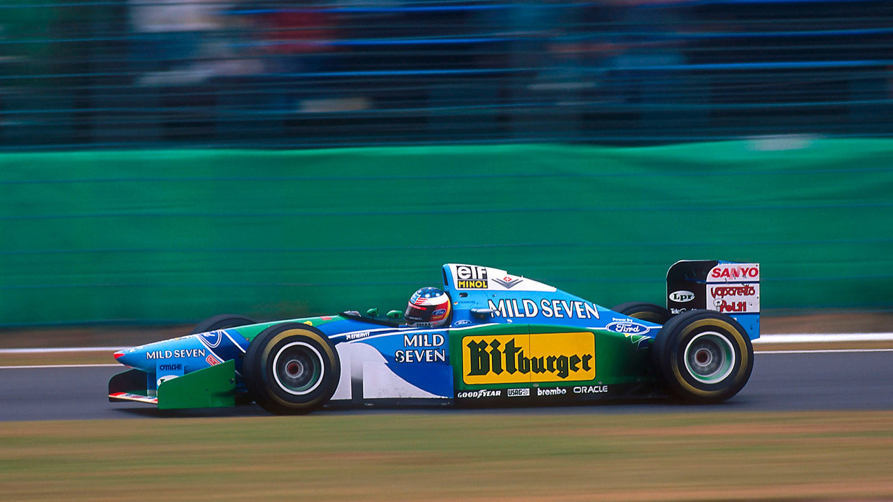 Michael Schumacher Benetton Ford
