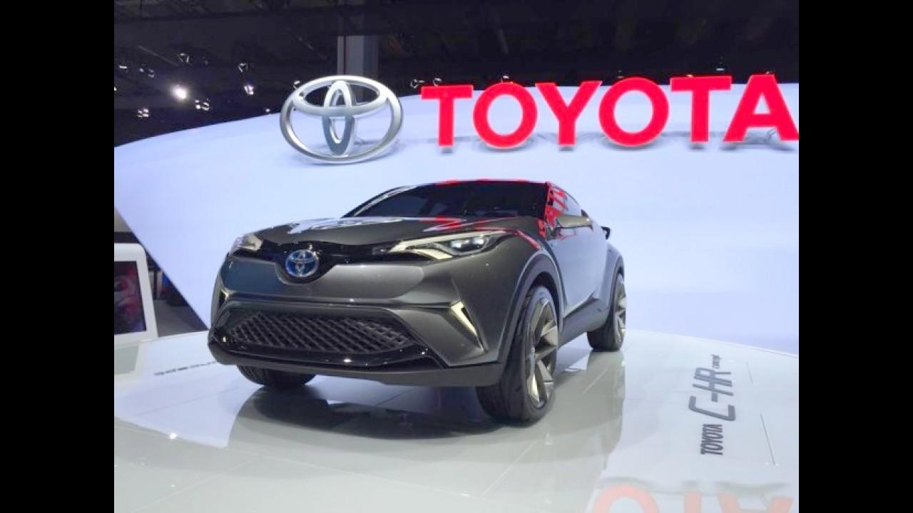 Anti HR-V, Toyota C-HR de produção será revelado em março como Auris Cross