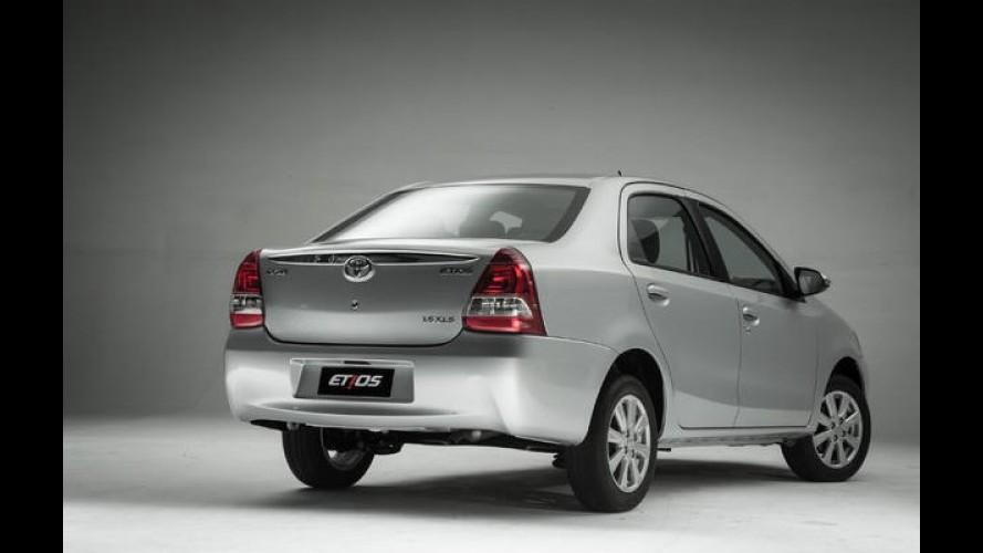 Toyota lança Etios com câmbio automático a partir de R$ 47.490 - veja preços