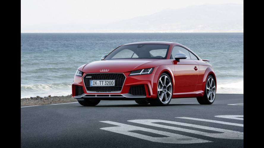 Salão de Pequim: Audi TT RS estreia com motor 2.5 turbo de 400 cv
