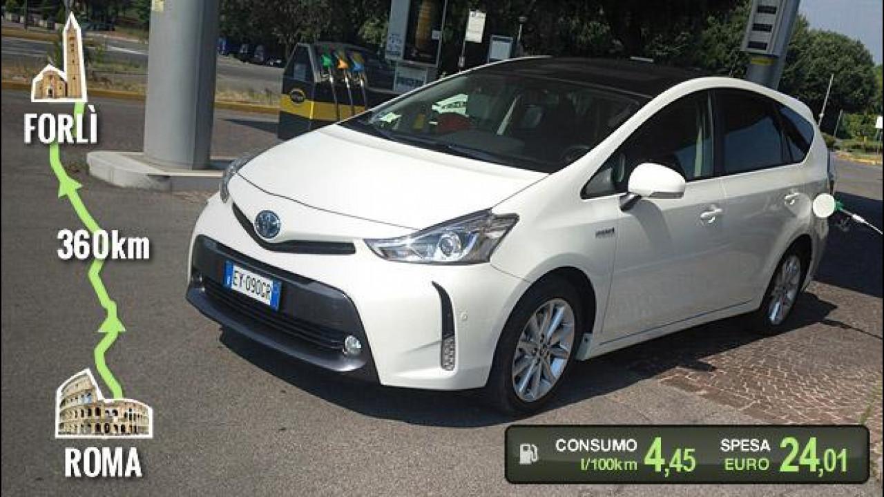 [Copertina] - Toyota Prius+, la prova dei consumi reali