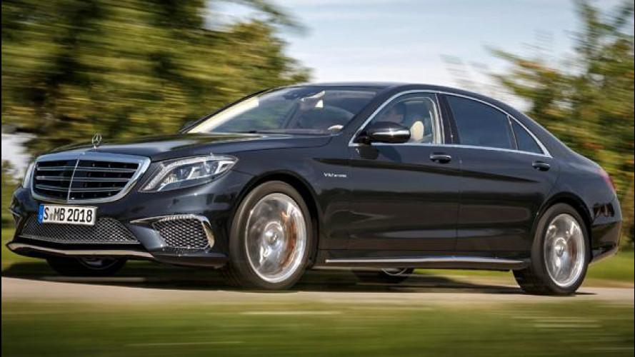 Mercedes Classe S, in arrivo nuovi motori