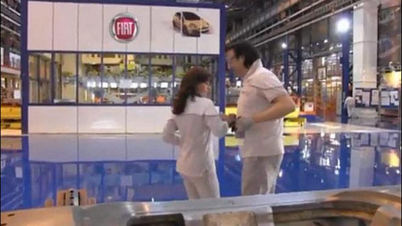 [Copertina] - Fiat: il video degli operai a Melfi che ballano divide la rete