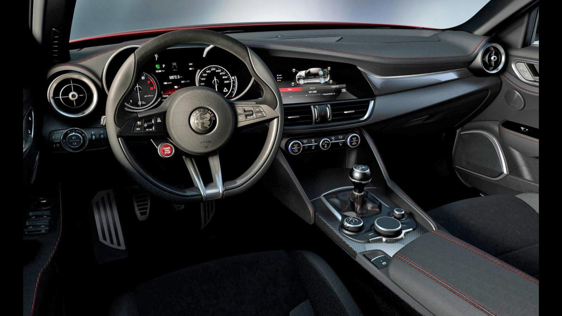 Alfa Giulia Quadrifoglio ecco e va [VIDEO]