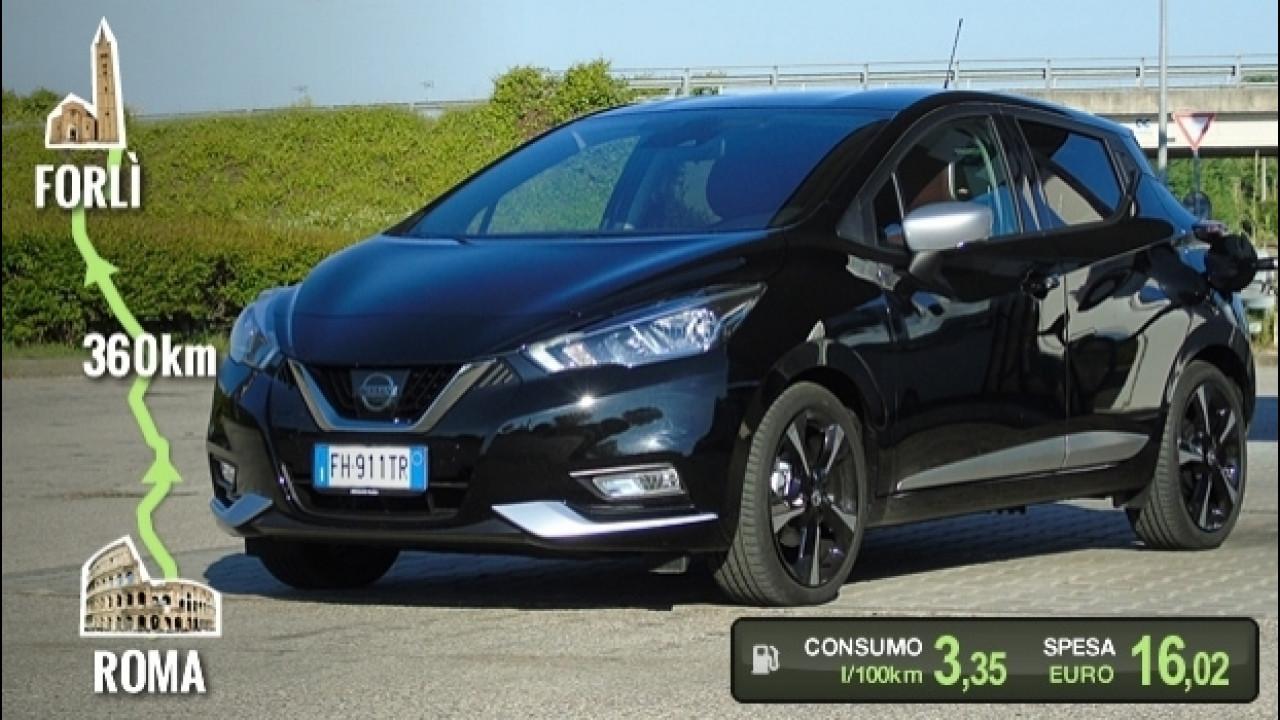 [Copertina] - Nissan Micra dCi, la prova dei consumi reali