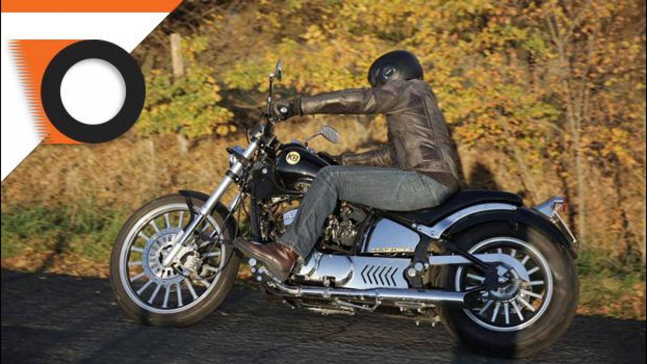 [Copertina] - Kustom Bike Daytona 350 è la moto della settimana