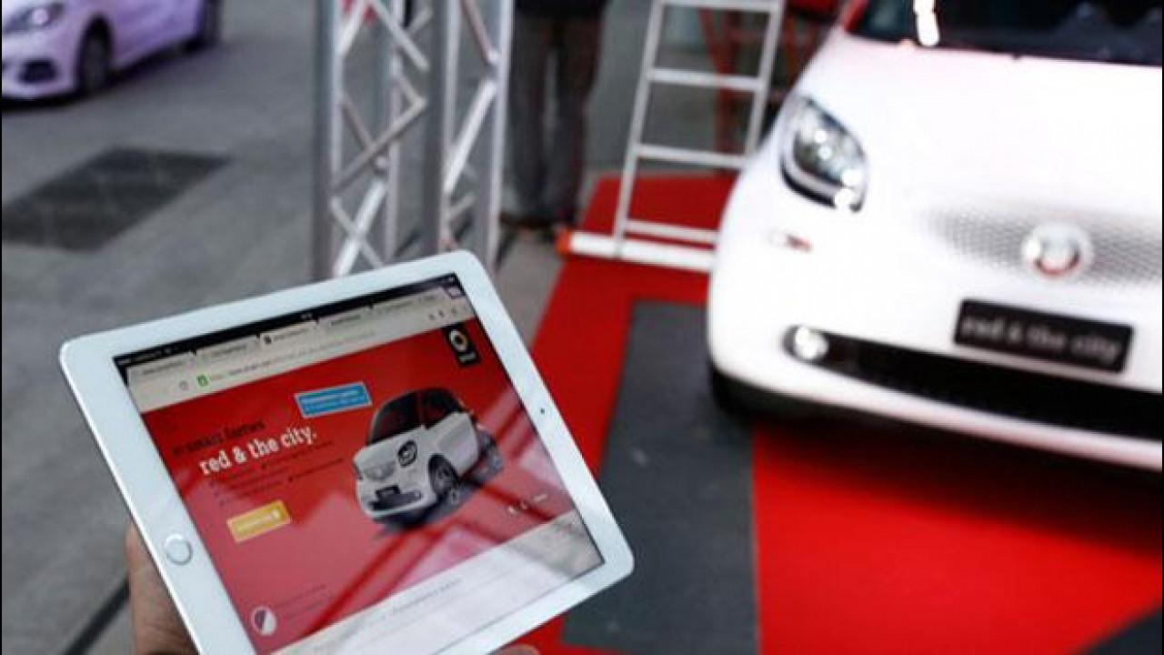 [Copertina] - smart fortwo red & the city, consegnata la prima auto comprata online