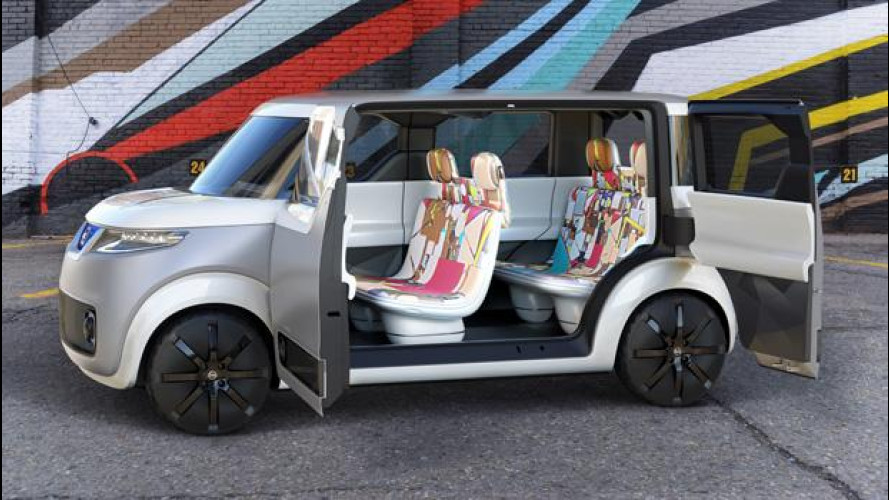 "Nissan Teatro for Dayz, l'auto per i ""nativi digitali"""