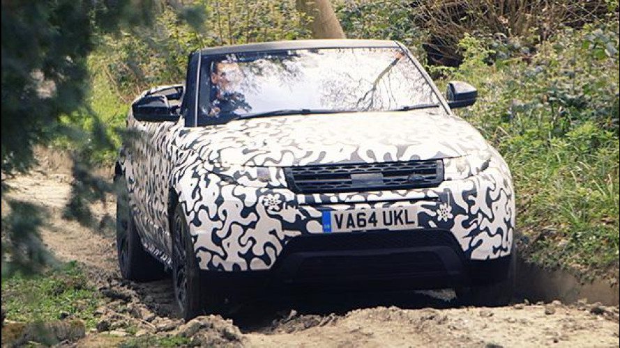 Range Rover Evoque Convertibile, pronta per l'off-road [VIDEO]