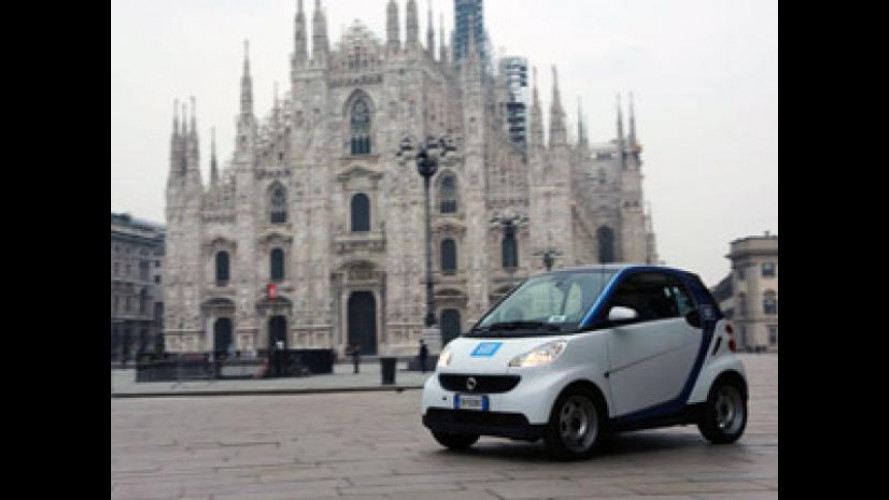 "Milano si consacra ""patria"" mondiale di car2go"