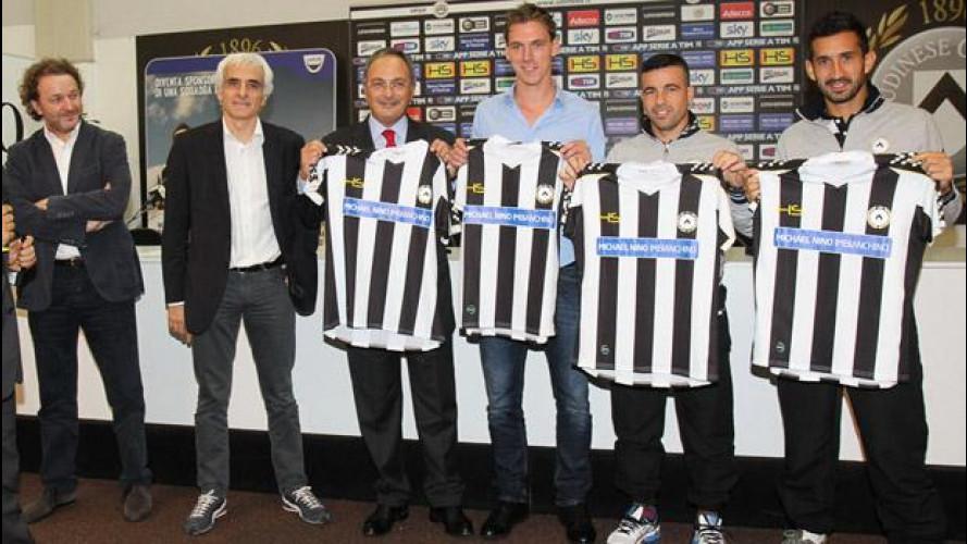 Dacia Sponsor Day, i vincitori sulle magliette dell'Udinese