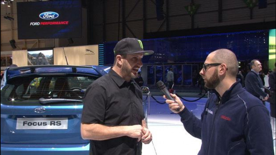 Ken Block ci parla della Ford Focus RS