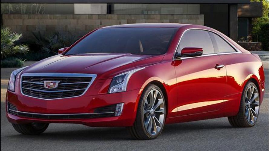 Cadillac ATS Coupé, la compatta americana