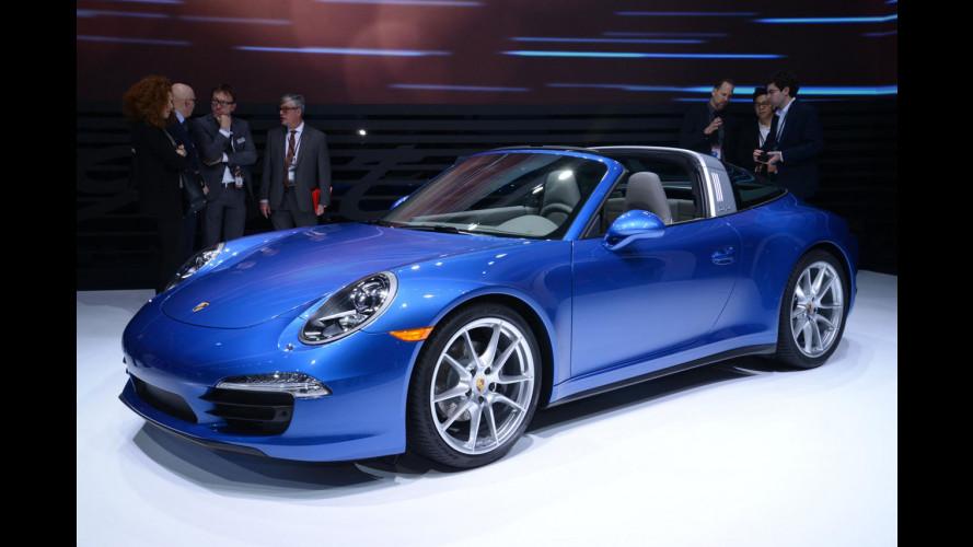Nuova Porsche 911 Targa