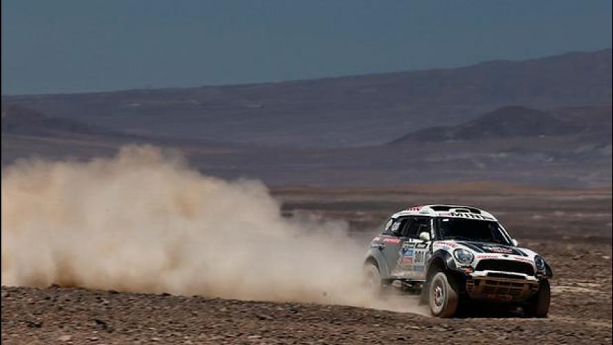 [Copertina] - Dakar 2014, tappa 8: la MINI di Al-Attiyah davanti a tutti