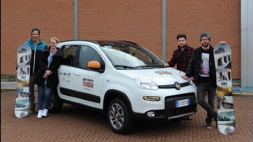 Fiat Panda 4x4 Antartica è partita da Torino per Sochi