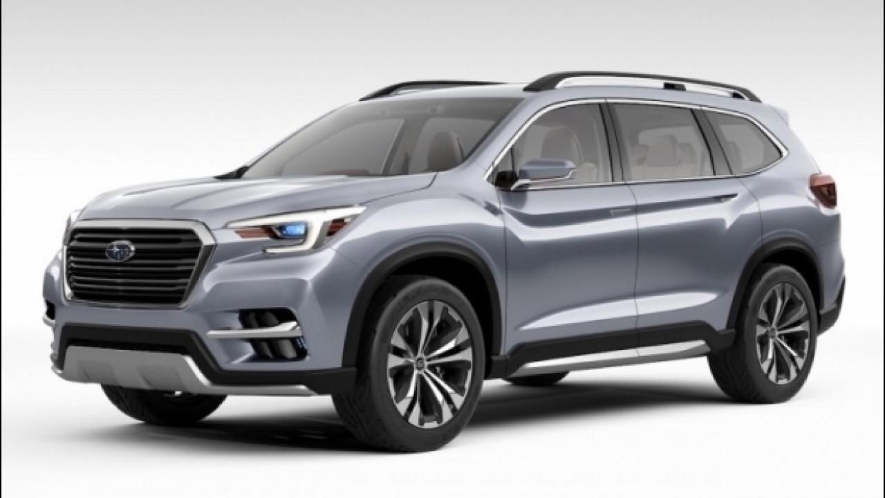 [Copertina] - Subaru Ascent Concept, il SUV a 7 posti