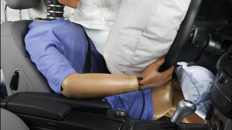 Airbag per le ginocchia, un accessorio sempre più diffuso
