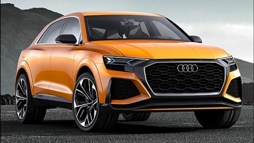 Audi Q8 e Q4, in produzione dal 2018 e 2019