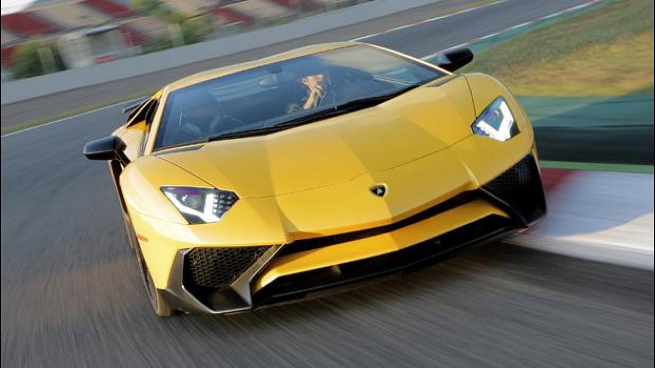 [Copertina] - Lamborghini Aventador LP750-4 SV, Toro bestiale