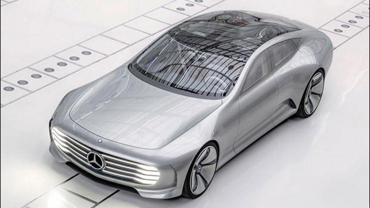 [Copertina] - Salone di Francoforte, Mercedes Concept IAA sfida il vento