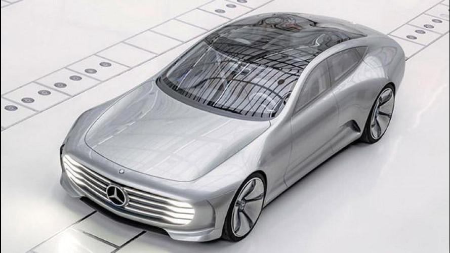 Salone di Francoforte, Mercedes Concept IAA sfida il vento